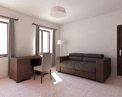 dom klasyczny - minimalny - Biuro, styl tradycyjny - zdjęcie od 2arch wytwórnia projektów