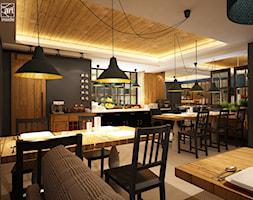 Restauracja w przytulnej tonacji - zdjęcie od artinside