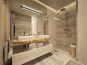 łazienka w ciepłych odcieniach - zdjęcie od ARTINSIDE