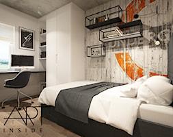 pokój młodzieżowy / underground - zdjęcie od ARTINSIDE - Homebook