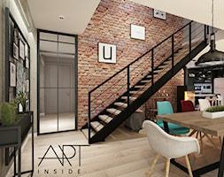 wnętrze nowoczesnego domu inspirowane loftem - zdjęcie od artinside