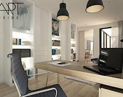Gabinet+w+nowoczesnym%2C+loftowym+stylu+-+zdj%C4%99cie+od+artinside