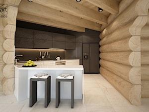 Kuchnia w domu z bali - zdjęcie od ARTINSIDE