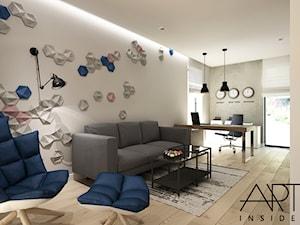 Gabinet w nowoczesnym, loftowym stylu - zdjęcie od ARTINSIDE