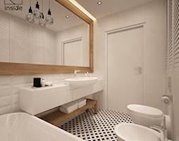 łazienka - styl skandynawski - zdjęcie od art inside - studio projektowania wnętrz i ogrodów