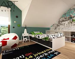 pokój dla młodego sportowca/dzieicęcy,/ młodzieżowy - zdjęcie od artinside