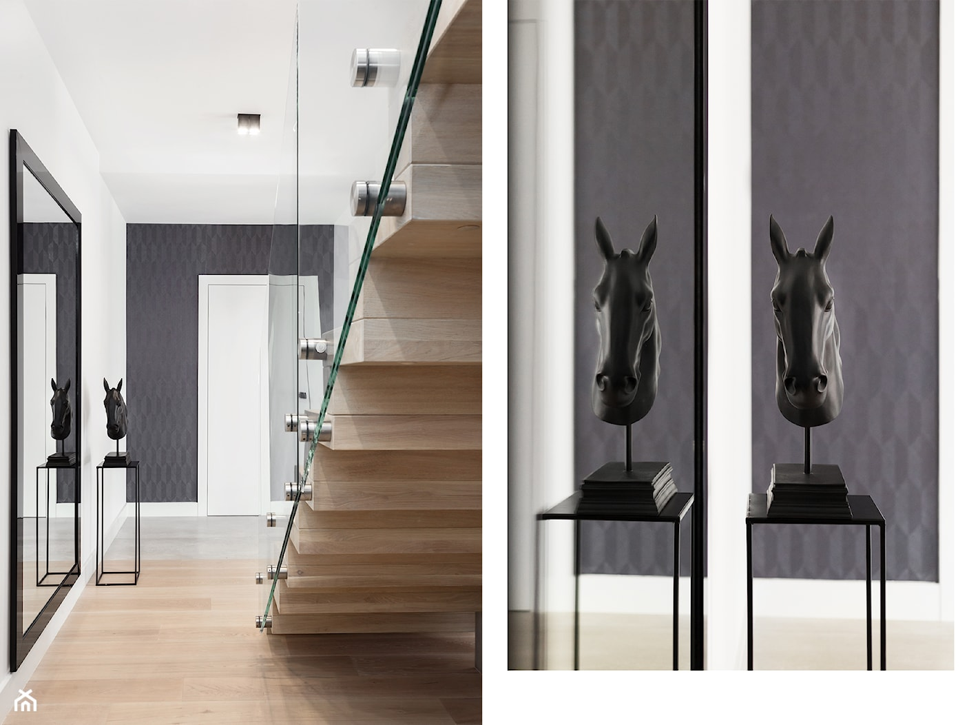 schody, tapeta i detale - zdjęcie od Maciejewska Design - Homebook