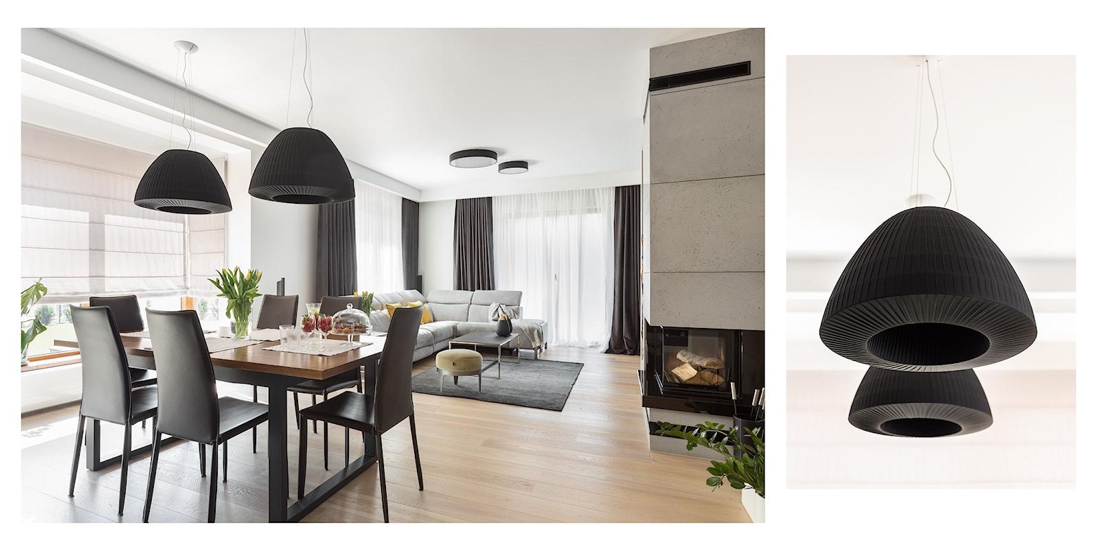 jadalnia z widokiem na salon - zdjęcie od Maciejewska Design - Homebook