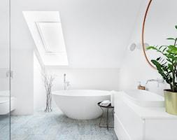biała łazienka - zdjęcie od Maciejewska Design - Homebook