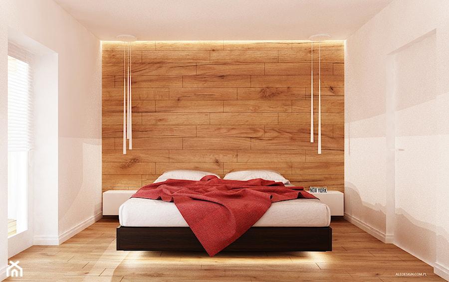 Sypialnia W Drewnie Zdjęcie Od Ale Design Grzegorz