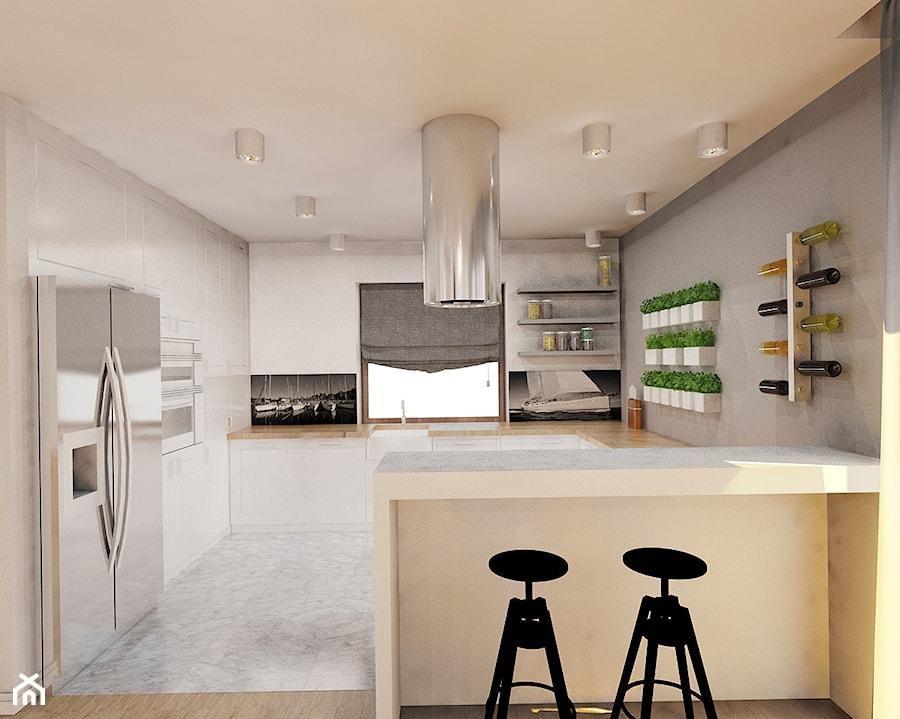 Projekt kuchni, jadalni i salonu  zdjęcie od Ale design Grzegorz Grzywacz -> Kuchnia Z Salonem Projekt