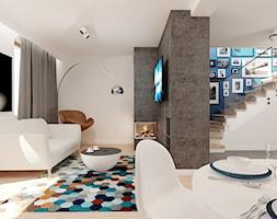 Projekt salonu - zdjęcie od Ale design Grzegorz Grzywacz