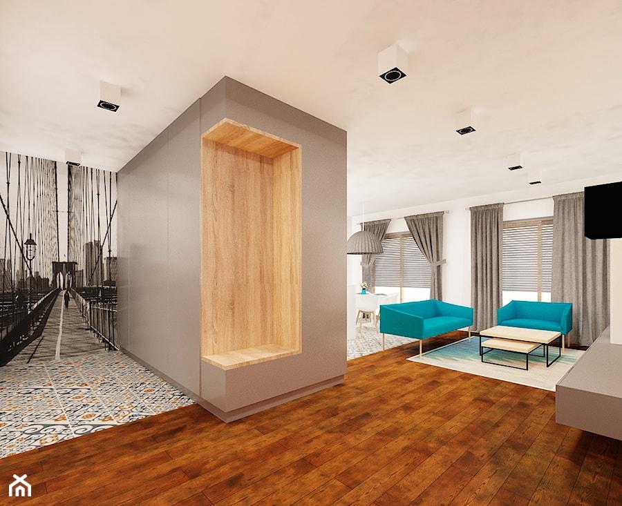 Otwarta kuchnia na salon  zdjęcie od Ale design Grzegorz   -> Kuchnia Przedpokój Inspiracje