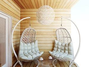 Taras/balkon - zdjęcie od Ale design Grzegorz Grzywacz