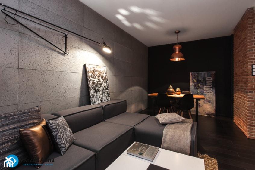 mieszkanie kawalera - zdjęcie od Anna Krzak architektura wnętrz