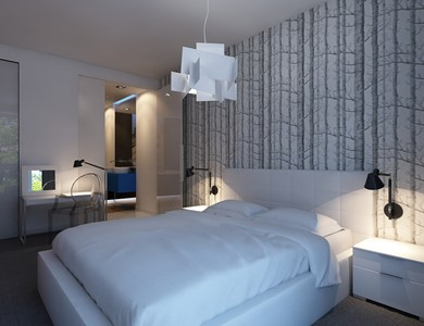 Sypialnia styl Nowoczesny - zdjęcie od Studio Aranżacja