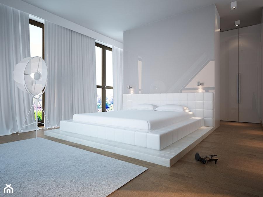 Biała sypialnia - zdjęcie od Studio Aranżacja