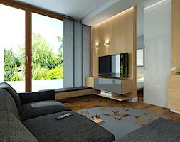 Salon w drewnie - zdjęcie od Studio Aranżacja - Homebook