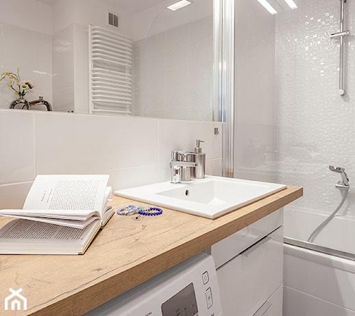 Mała łazienka Z Wanną I Pralką Pomysły Inspiracje Z Homebook