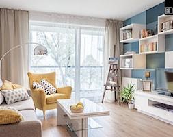 Zielona Klecina_04 - Salon, styl nowoczesny - zdjęcie od PRACOWNIE WNĘTRZ KODO