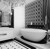 Aranżacja łazienki w stylu glamour - zdjęcie od ArtCore Design