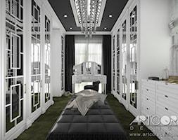 Projekt+wn%C4%99trza+garderoby+glamour.+-+zdj%C4%99cie+od+ArtCore+Design