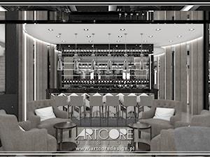 Projekt wnętrza hotelu.
