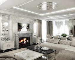 Elegancki+salon+w+stylu+glamour.+-+zdj%C4%99cie+od+ArtCore+Design