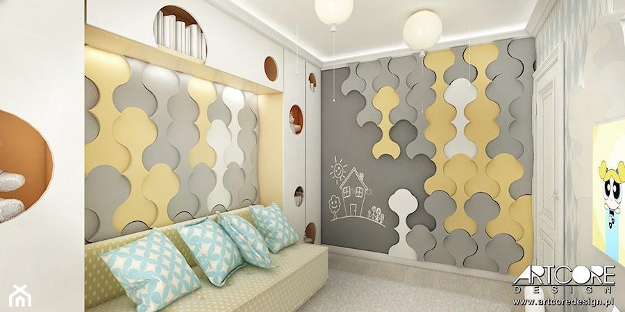 Projekt wnętrza pokoju dziecięcego - bawialni - zdjęcie od ArtCore Design