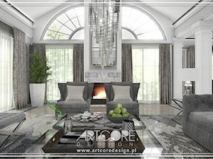 Luksusowe wnętrza rezydencji