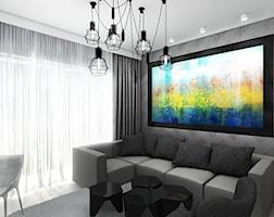 Projektowane wnętrz mieszkania w Krakowie. - zdjęcie od ArtCore Design