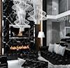 Nowoczesny salon z kominkiem - zdjęcie od ArtCore Design