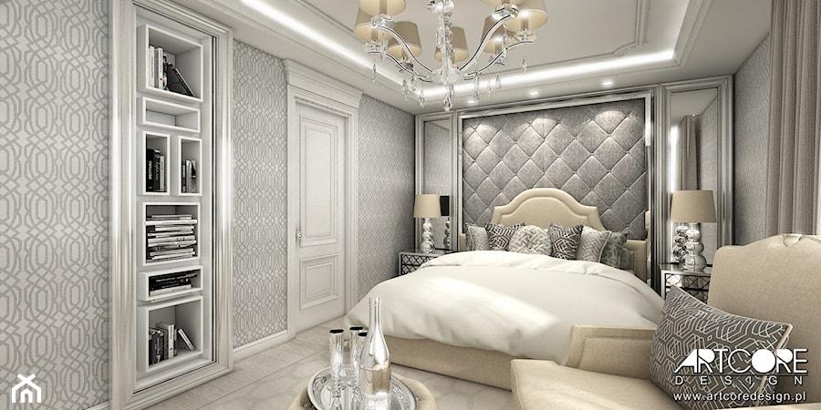 stylowe wnętrze sypialni zdjęcie od artcore design