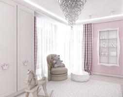 Wnętrze pokoju dla dziewczynki. - zdjęcie od ArtCore Design