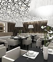 Projekt wnętrza restauracji w hotelu - zdjęcie od ArtCore Design