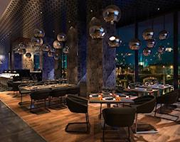 Projekt wnętrz restauracji. - zdjęcie od ArtCore Design