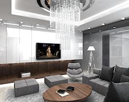 Projekt wnętrza nowoczesnego domu. - zdjęcie od ArtCore Design