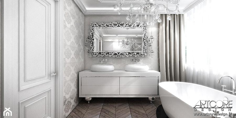 Luksusowa łazienka W Stylu Glamour Zdjęcie Od Artcore