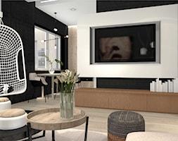 Salon z czernią w tle - zdjęcie od Bubbles Studio