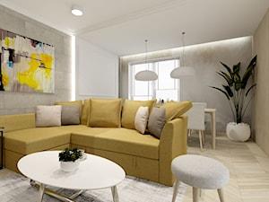 Świetliste mieszkanie z nutką energii
