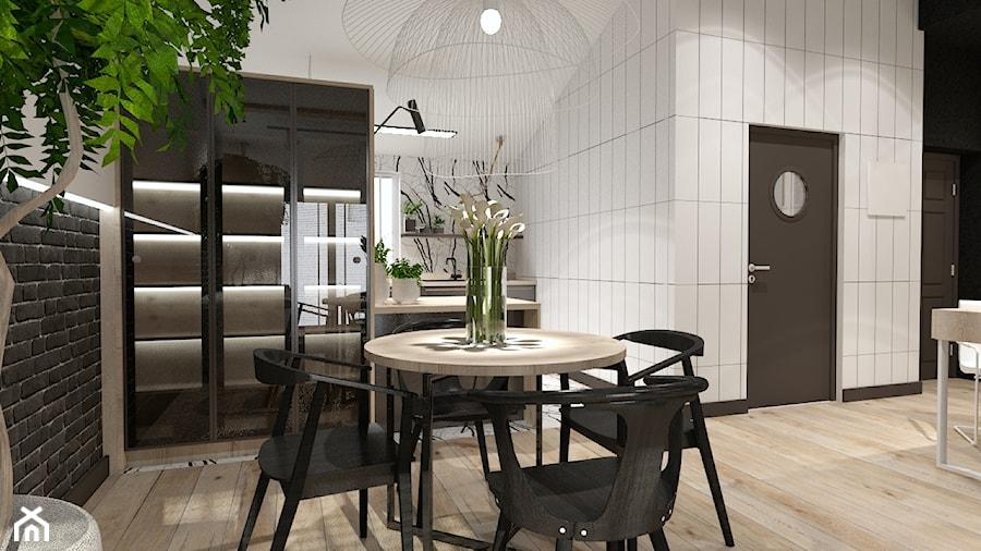 Aranżacje wnętrz - Jadalnia: Skandynawskie mieszkanie dla mężczyzny - Jadalnia, styl industrialny - Bubbles Studio. Przeglądaj, dodawaj i zapisuj najlepsze zdjęcia, pomysły i inspiracje designerskie. W bazie mamy już prawie milion fotografii!