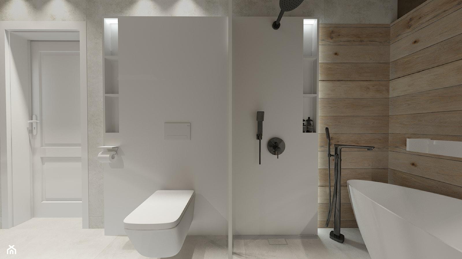 Spa w małej łazience - zdjęcie od Bubbles Studio - Homebook