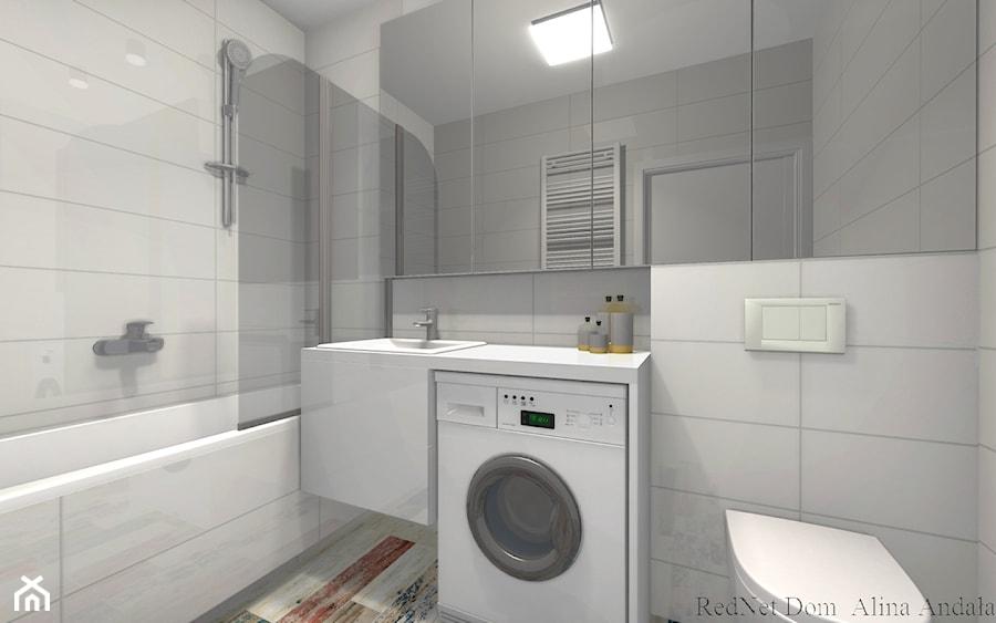 Nowoczesna łazienka Z Elementem Francuskiego Shabby Chic