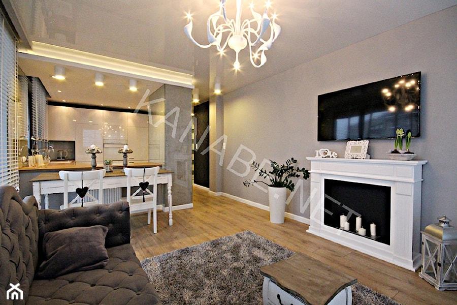 nowoczesny glamour apartament 49 m2 osiedle parkowe