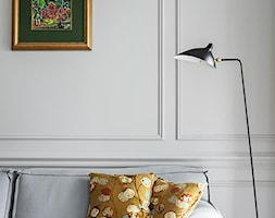 Miejski Styl - konkurs - Mały biały salon, styl włoski - zdjęcie od DOMagała Design