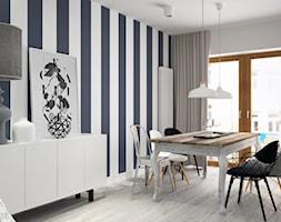 Jadalnia styl Skandynawski - zdjęcie od DOMagała Design