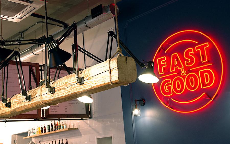Fast & Good - Wnętrza publiczne, styl eklektyczny - zdjęcie od DOMagała Design