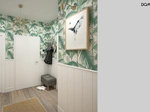 Zielono mi - Hol / przedpokój, styl eklektyczny - zdjęcie od DOMagała Design