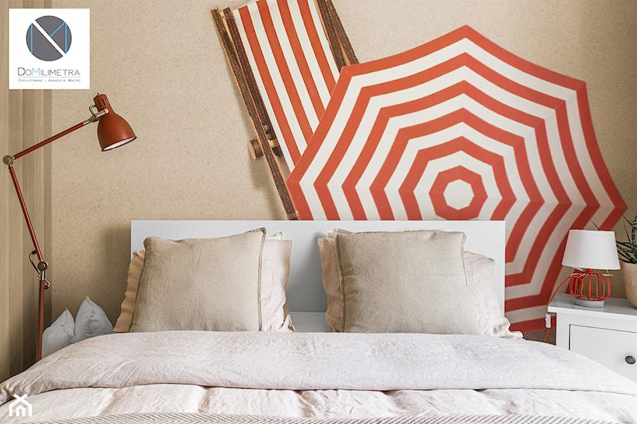 Living Coral - Sypialnia, styl nowoczesny - zdjęcie od DoMilimetra