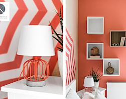 Living Coral - Sypialnia, styl nowoczesny - zdjęcie od DoMilimetra - Homebook